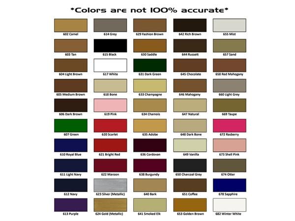 Pin Kiwi Shoe Polish Color Chart Images To Pinterest