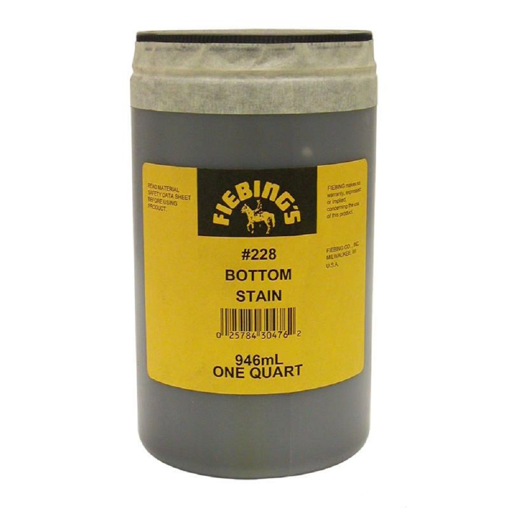 Fiebing 228 Bottom Stain Quart Great Pair Store