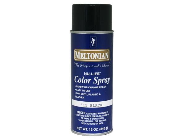 Meltonian Shoe Color Spray  Black