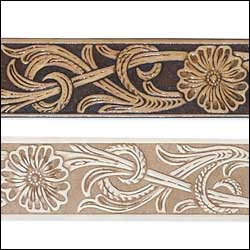 embossed-running-floral-belt-blank