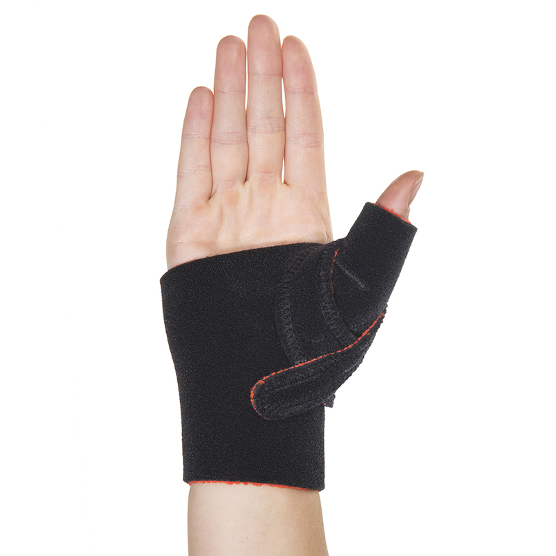 Thermoskin Cross X Cmc Thumb Splint Right Black 8 101