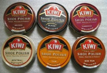 Kiwi Shoe Polish Brown Color