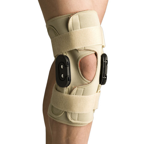 Hinged Knee Wrap Flexion Extension