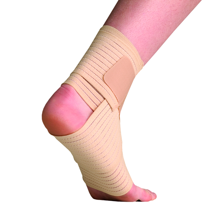 Thermoskin Elastic Ankle Wrap Beige 8 605 Great Pair Store
