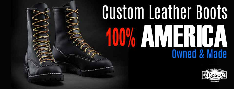 Custom Leather Boots