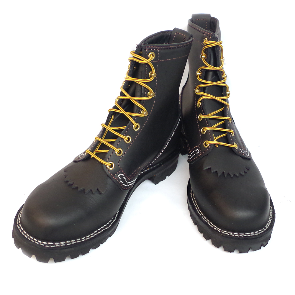 8 EE Wesco /'Jobmaster/' ST208100 Men/'s Work Boots Brown Leather #100 Vibram Sole 8/″ Height