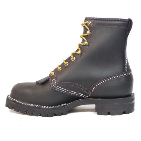 wesco custom leather boot Jobmaster vibram sole