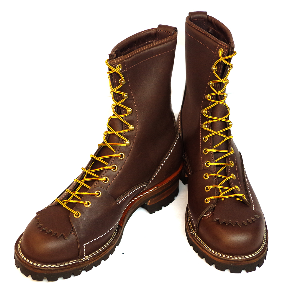 New Wesco Highliner 9710100 Men S Work Boots Brown Leather