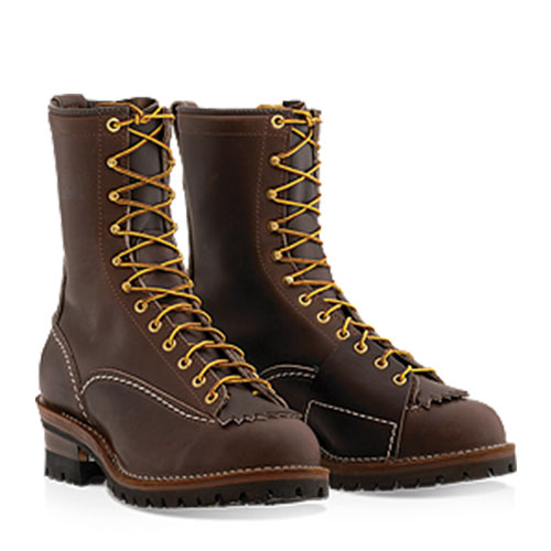 wesco highliner leather boot