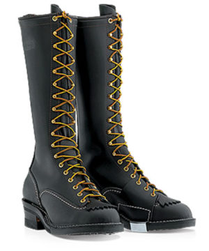 wesco highliner leather boot vibram