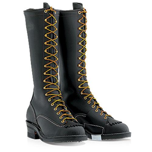wesco highliner leather boot vibram