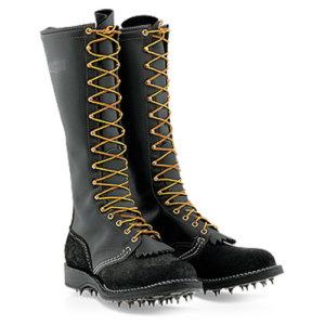 wesco custom leather boot calks
