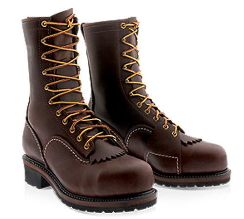 Wesco Custom Leather Brown Boot Voltfoe